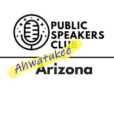 Speakers Club - Ahwatukee Logo