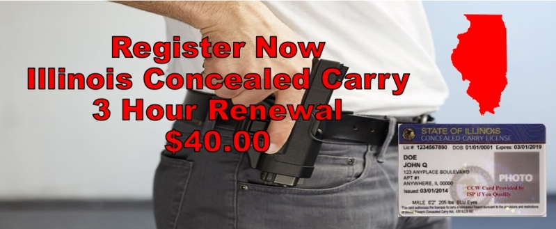 illinois concealed carry renewal