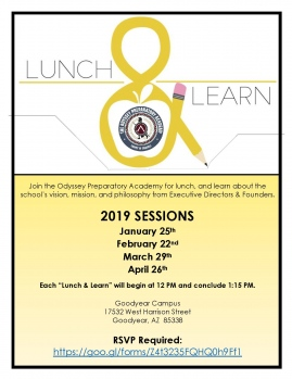 Odyssey Lunch & Learns