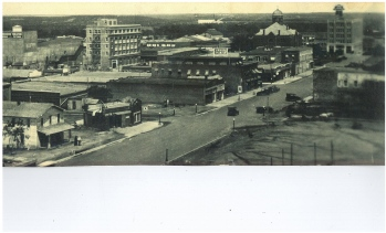 A view of downtown Eastland circa 1927