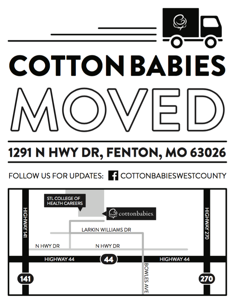 Map to Cotton Babies