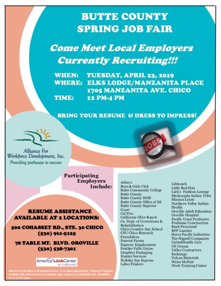 Oroville Area Chamber of Commerce - Event Information