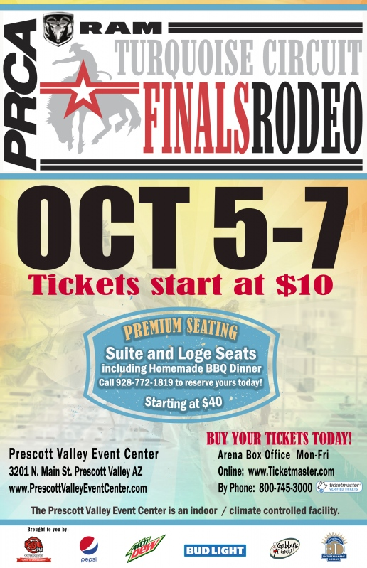 RAM Turquoise Circuit Finals Rodeo Prescott Valley