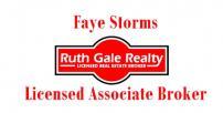 Faye Storms, Licensed Associate Broker