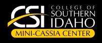 College of Southern Idaho,  Mini-Cassia