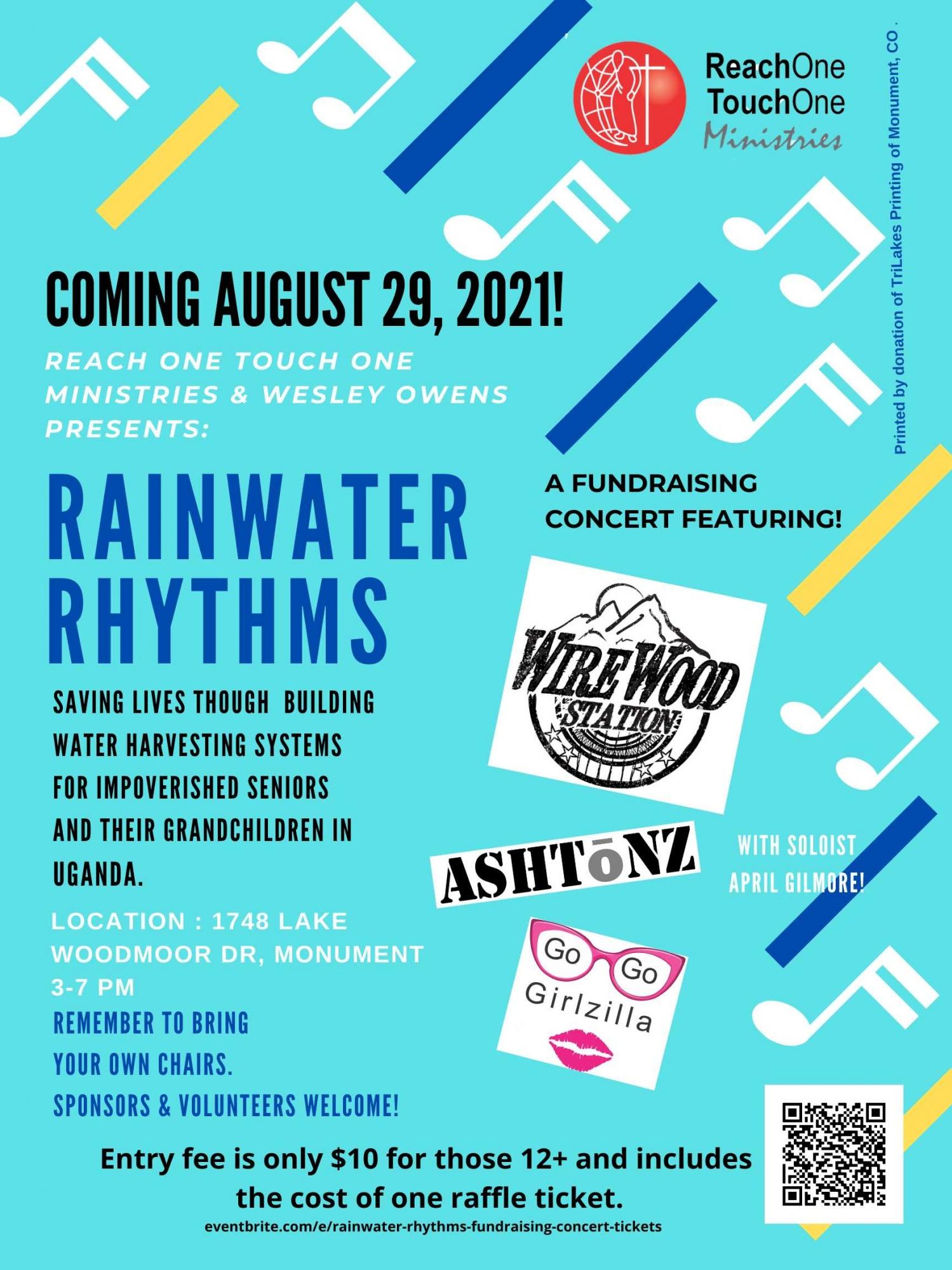 Rainwater Rhythms Concert